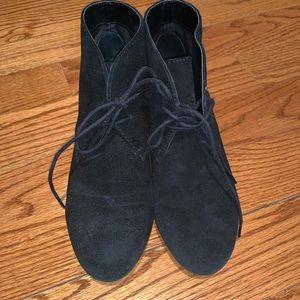Euc Nine West laine booties black